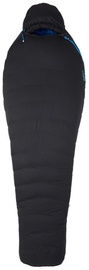 Спальный мешок Marmot Paiju 10 Regular Black/Blue, левый, 198 см
