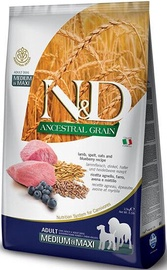Farmina N&D Ancestral Grain Lamb Spelt & Oats Blueberry Adult 2.5kg