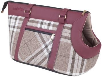 Soma Amiplay Kent Pet Carrier Bag S 35x21x24cm Burgundy