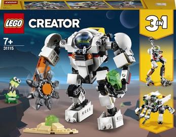 Конструктор LEGO Creator Космический робот для горных работ 31115