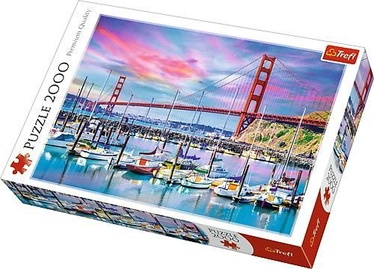 Trefl Puzzle Golden Gate San Francisco 2000pcs
