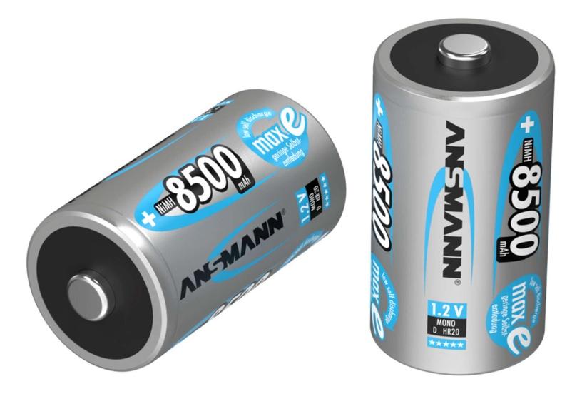 Ansmann MaxE Rechargeable Battery D 8500mAh 2pcs