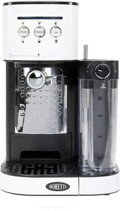 Boretti B402 Coffee Maker Espresso White