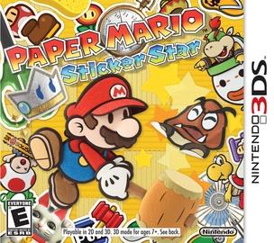Игра Paper Mario: Sticker Star 3DS