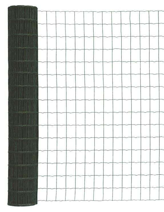 Suvirintas žalias tinklas 2.1 x 100 x 50 x 1000 mm, 25m