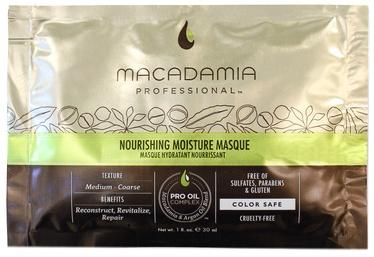 Kaukė plaukams Macadamia Nourishing Moisture, 30 ml