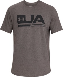 Under Armour Sportstyle Short Sleeve Shirt 1318562-176 Grey M