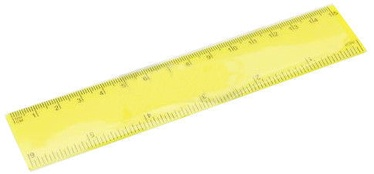 Avatar Ruler 15cm Yellow