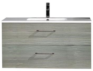 Vonios spintelė su praustuvu Masterjero YBC141-100