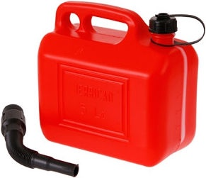 Verners Fuel Can Red 5l