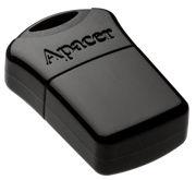 USB atmintinė Apacer AH116 Black, USB 2.0, 16 GB