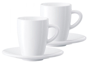 Jura Espresso Cups 2 x 90ml White