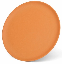 Fissman Bamboo Fibre Plate Orange 28cm