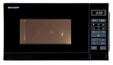 Mikrobangų krosnelė Sharp R242BKW Black