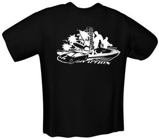 GamersWear Double Team T-Shirt Black XXL