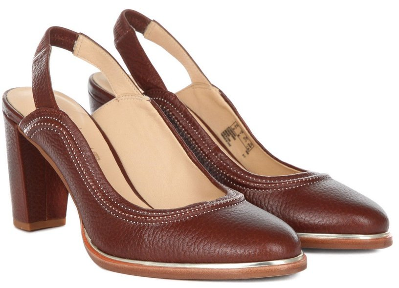 Clarks Ellis Ivy Womens Shoes 26132003 Brown Leather 37