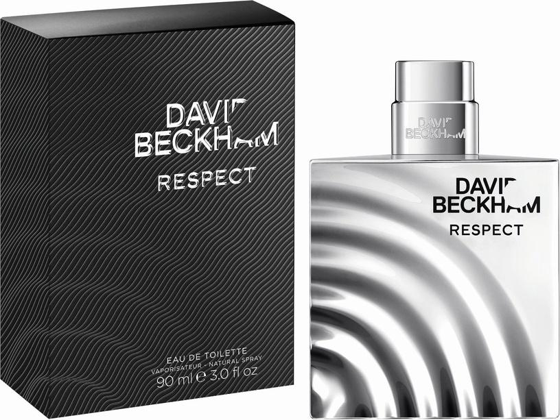 Tualetes ūdens David Beckham Respect 90ml EDT