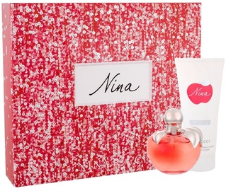 Nina Ricci Nina 80ml EDT + 100ml Body Lotion New Design