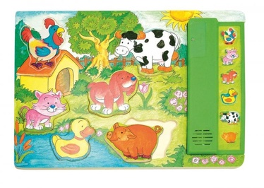 Woody Eco Wooden Educational Puzzle 90323 6pcs