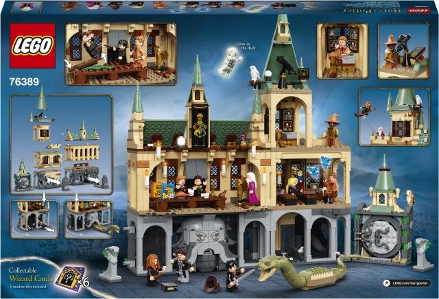 Конструктор LEGO Harry Potter Hogwarts™ Chamber of Secrets 76389, 1176 шт.