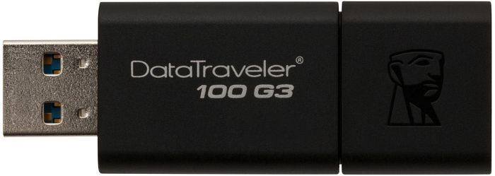 USB atmintinė Kingston DT100G3, USB 3.0, 32 GB