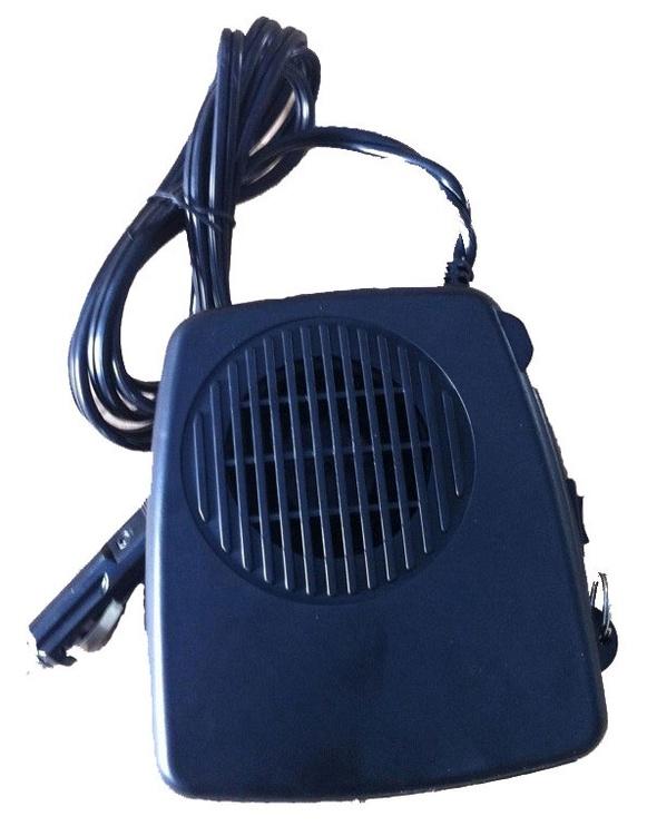Orą šildantis ventiliatorius, 12 V