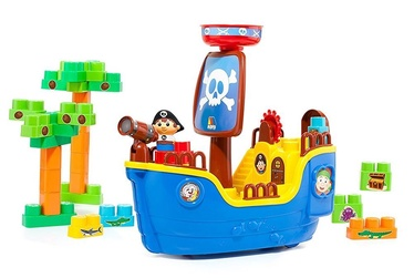 Molto Pirate Ship Block 30pcs 16451