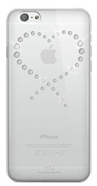 White Diamonds Eternity Crystal Case For Apple iPhone 6 Plus/6s Plus Transparent Silver Crystals