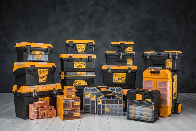 Коробка Forte Tools MG-16 Toolbox 434x194x239mm Black/Yellow