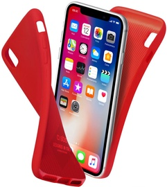 SBS Polo Back Cover For Apple iPhone X Red