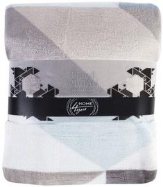 Home4you Plaid/Blanket Vivian 150x200cm Blue Triangles