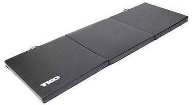 TKO Exercise Mat 180x60cm Black