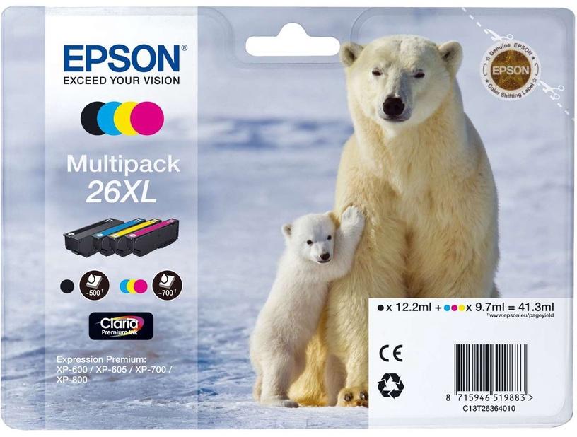 Rašalinio spausdintuvo kasetė Epson 26 Claria Premium Multipack XL