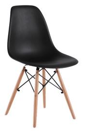 Plastmasas krēsls PP-623, melns