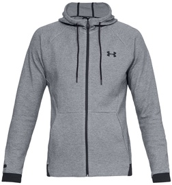 Under Armour Unstoppable Double Knit FZ Hoodie 1320722-035 Grey L
