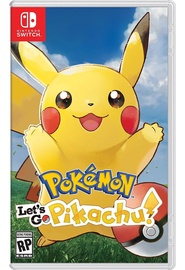 Nintendo Pokemon Let's Go Pikachu! SWITCH