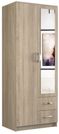 Skapis Top E Shop Romana Sonoma Oak, 80x52x205 cm
