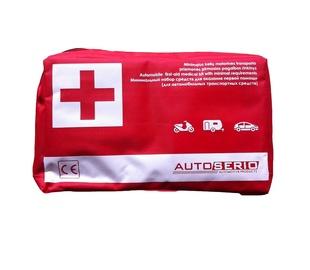 Pirmosios pagalbos rinkinys Autoserio, minimalios sudėties