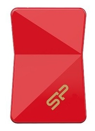 USB atmintinė Silicon Power Jewel J08 Red, USB 3.0, 16 GB