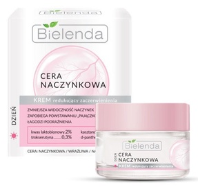 Sejas krēms Bielenda Capillary Skin Face Cream Reducing Redness, 50 ml