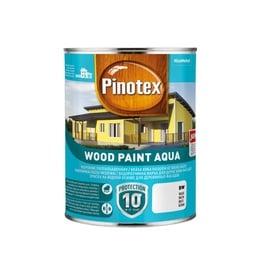 Emulsiniai dažai Pinotex Wood Paint Aqua, balti, 1 l