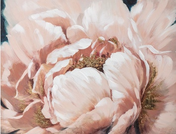 Fotopilt Home4you Pink Flower, 1000 mm x 750 mm