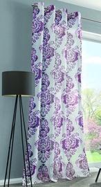 Дневной занавес Verners, фиолетовый, 1350x2450 мм