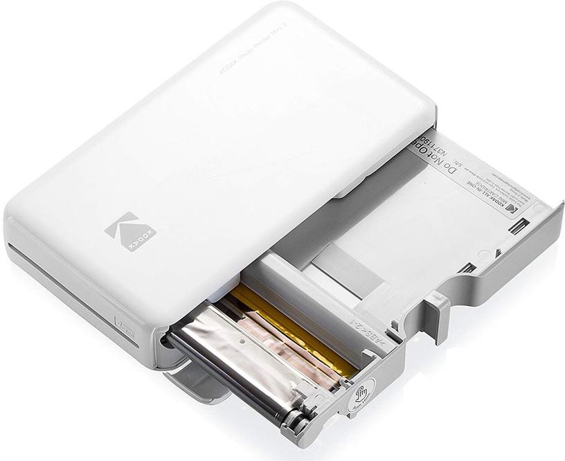 Momentānas drukas printeris Kodak Mini 2 White