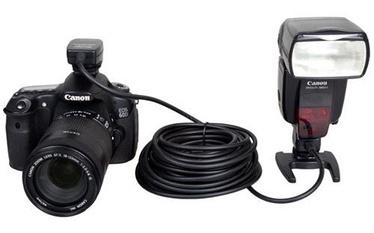 Phottix TTL Flash Remote Cord for Canon OC-E3 10m