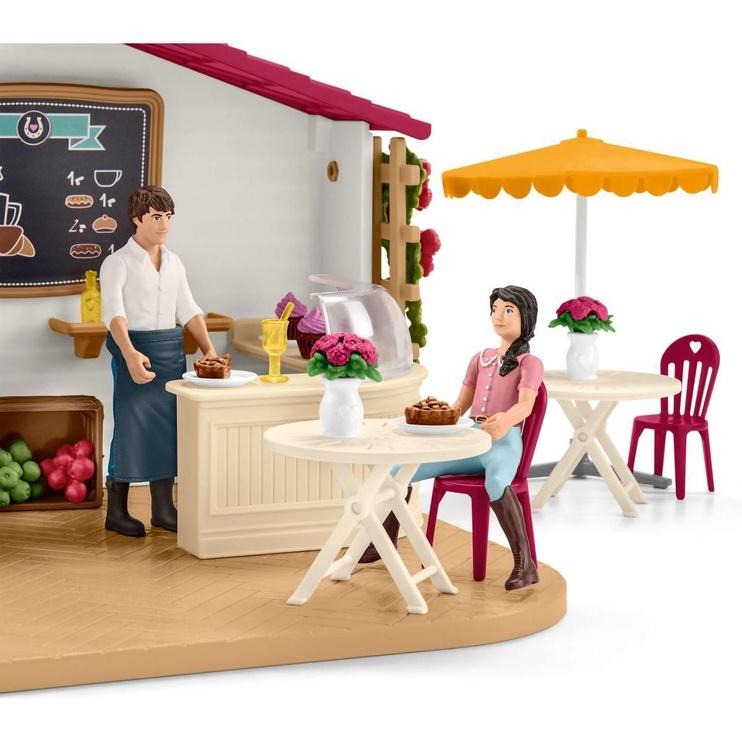 Žaislinė figūrėlė Schleich Rider Cafe 42519