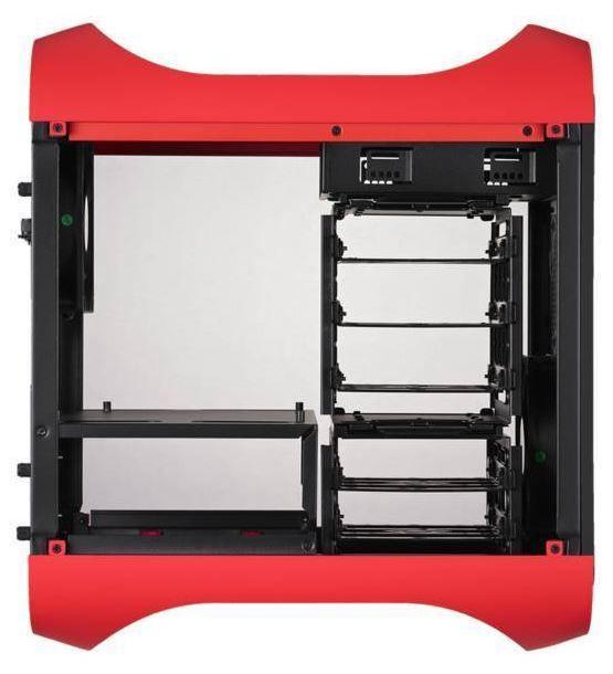 BitFenix Prodigy Mini-ITX Red