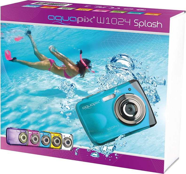 Easypix AquaPix W1024-I Splash Ice Blue