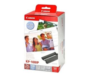 Fotopopierius Canon KP-108IP, blizgus, 10 x 15 cm