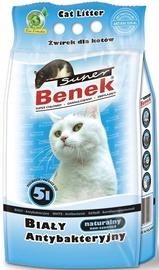 Наполнители для котов Super Benek White Antibacterial